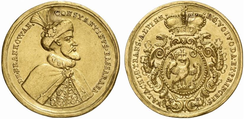 5 gold ducats - Constantin Brâncoveanu