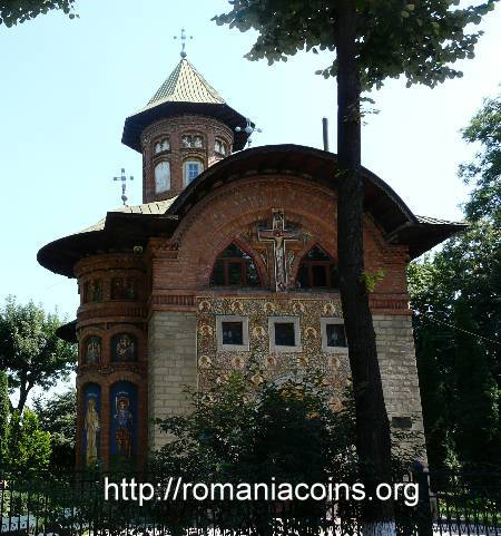 church Saint Nicholas-Copou in Ia�i, whose first founder was Nicolae Iorga - photo August 2011