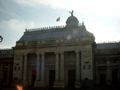 Facade of the Palace of the Patriarchy - photo March 2006