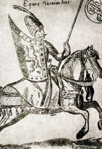 Eques walachus - Walachian cavalryman - gravure contemporary with Michael the Brave