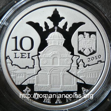 Grigore Alexandrescu - 200 Years since Birth - 10 lei silver 2010