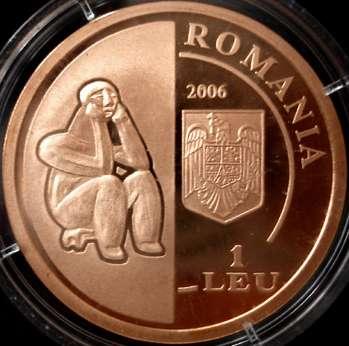 140 Years Since The Establishment Of The Romanian Academy 1 Leu 5