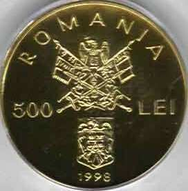 500 lei 1998 - 150th Anniversary of the Romanian Revolution of 1848