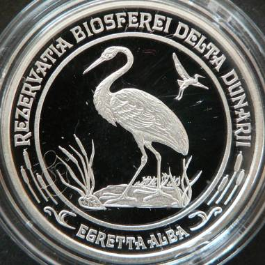 50 lei 2003 - International Year of the Pure Water - Danube Delta Biosphere Reserve