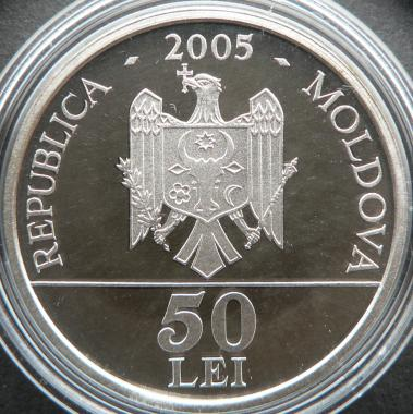 50 lei 2005 - 415th Anniversary of the Birth of Grigore Ureche - Republic of Moldova